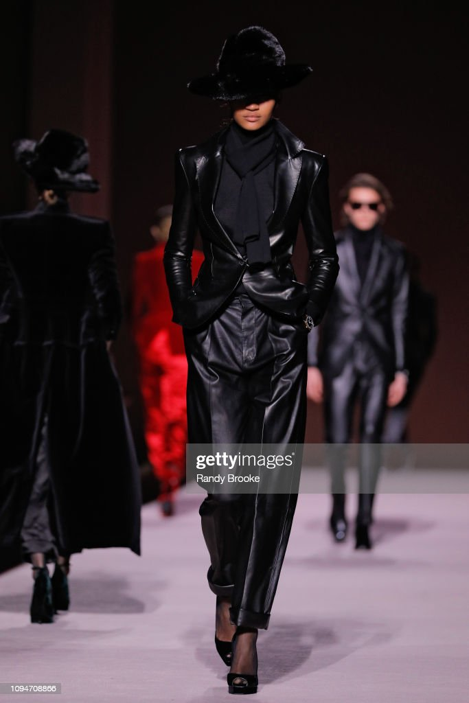 Tom Ford - Runway - February 2019 - New York Fashion Week : News Photo