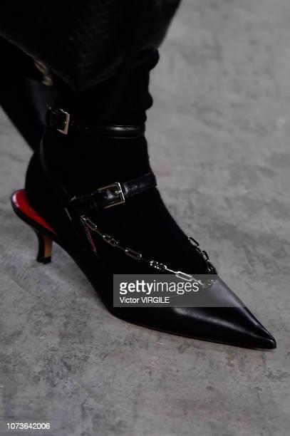 Model walks the runway at the Valentino TKY 2019 Pre-Fall Collection at Terada Warehouse on November 27, 2018 in Tokyo, Japan.