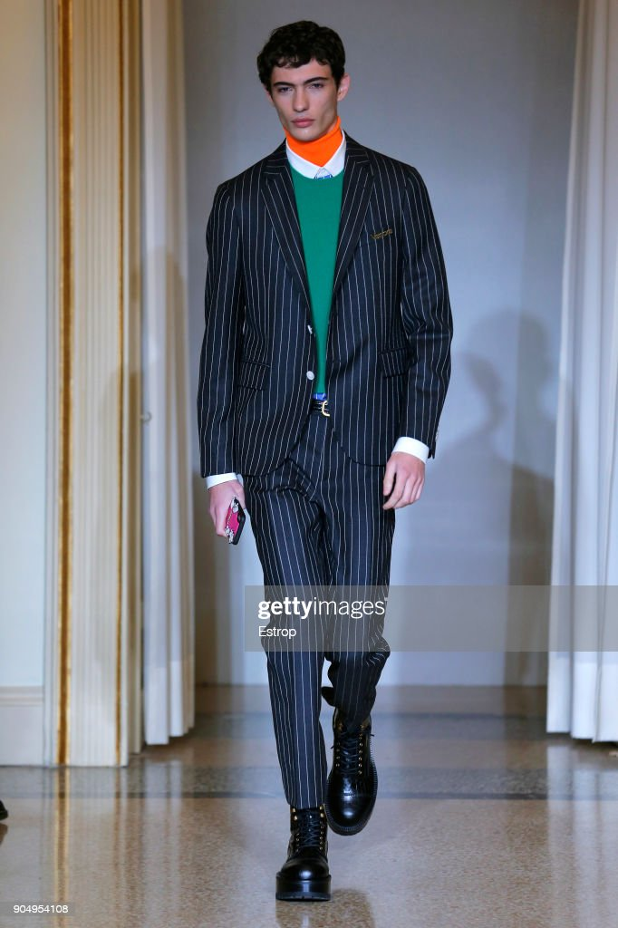 Versace - Runway - Milan Men's Fashion Week Fall/Winter 2018/19 : ニュース写真