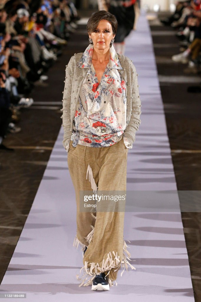 model-walks-the-runway-at-the-vivienne-westwood-show-at-paris-fashion-picture-id1133189489
