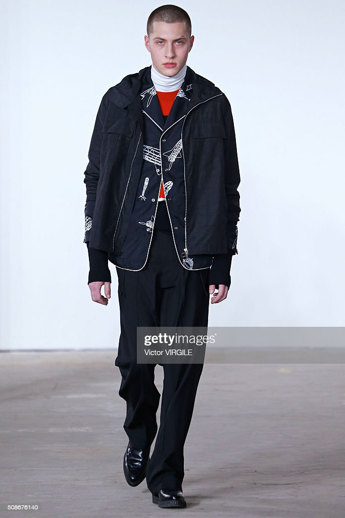 Tim Coppens - Runway - New York Fashion Week Men's Fall/Winter 2016