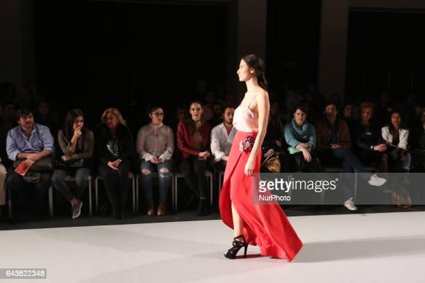 A model walks the runway Code 41 in Sevilla on February 22 2017