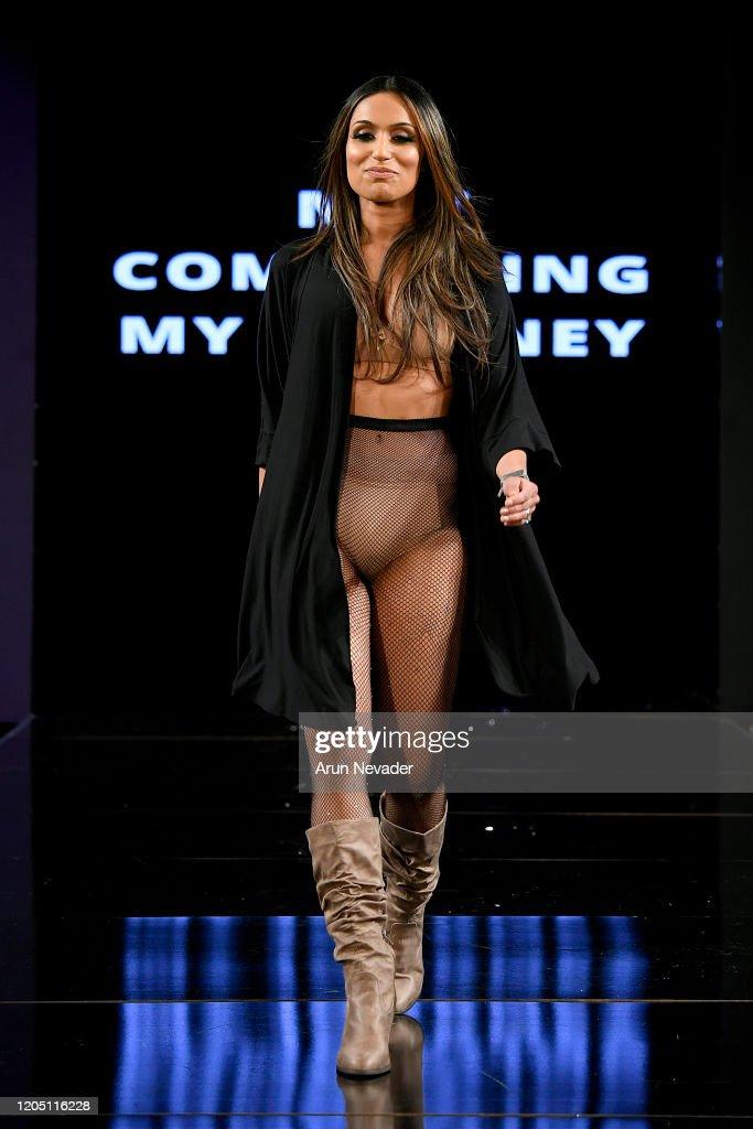 Ana Ono Intimates Project Cancerland  At New York Fashion Week Powered By Art Hearts Fashion NYFW 2020 : News Photo