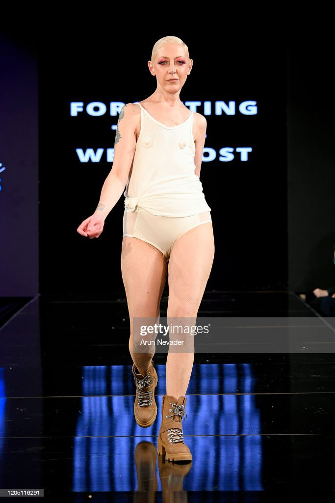Ana Ono Intimates Project Cancerland  At New York Fashion Week Powered By Art Hearts Fashion NYFW 2020 : News Photo