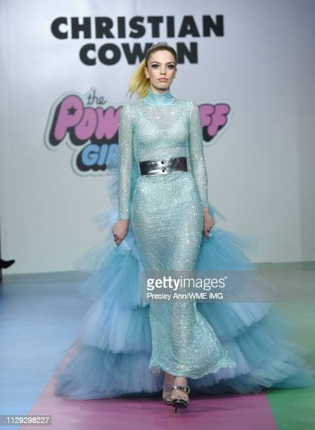 A model walks the runway during Christian Cowan x PowerPuff Girls Runway Show at City Market Social House on March 8 2019 in Los Angeles California