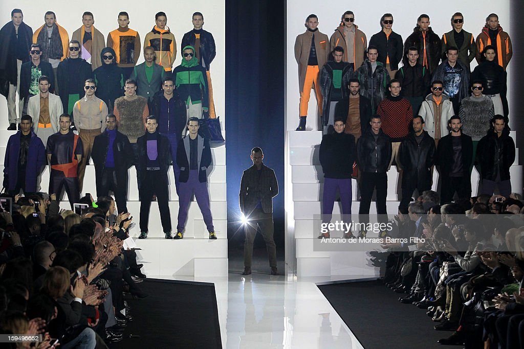 Dirk Bikkembergs  - Runway - Milan Fashion Week Menswear Autumn/Winter 2013