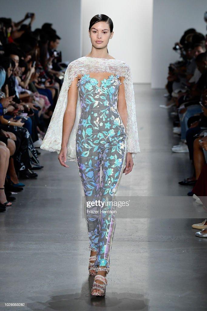 Son Jung Wan - Runway - September 2018 - New York Fashion Week: The Shows : Nieuwsfoto's
