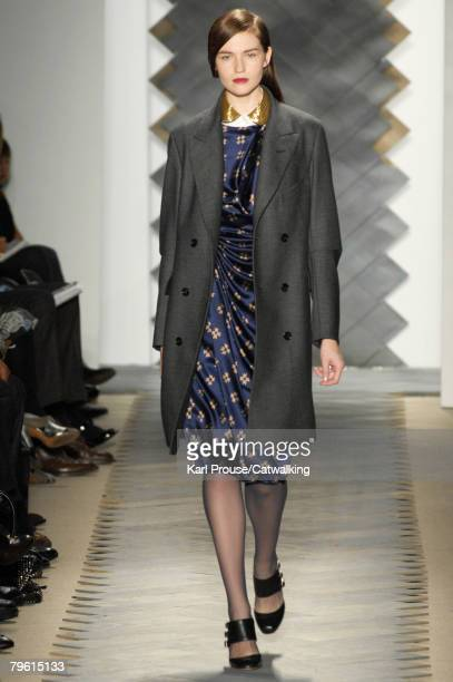 Model walks the runway during the 3.1 Phillip Lim fashion show, part of New York Mercedes Benz Fashion Week Autumn/Winter 2008 on the 6th of February...