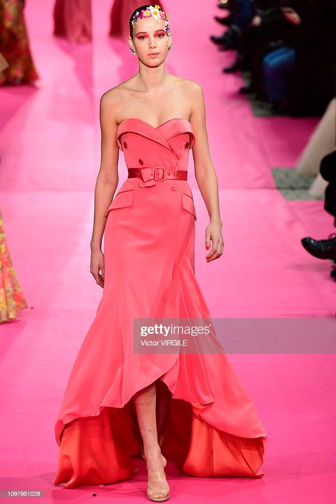 Alexis Mabille : Runway - Paris Fashion Week - Haute Couture Spring Summer 2019 : News Photo