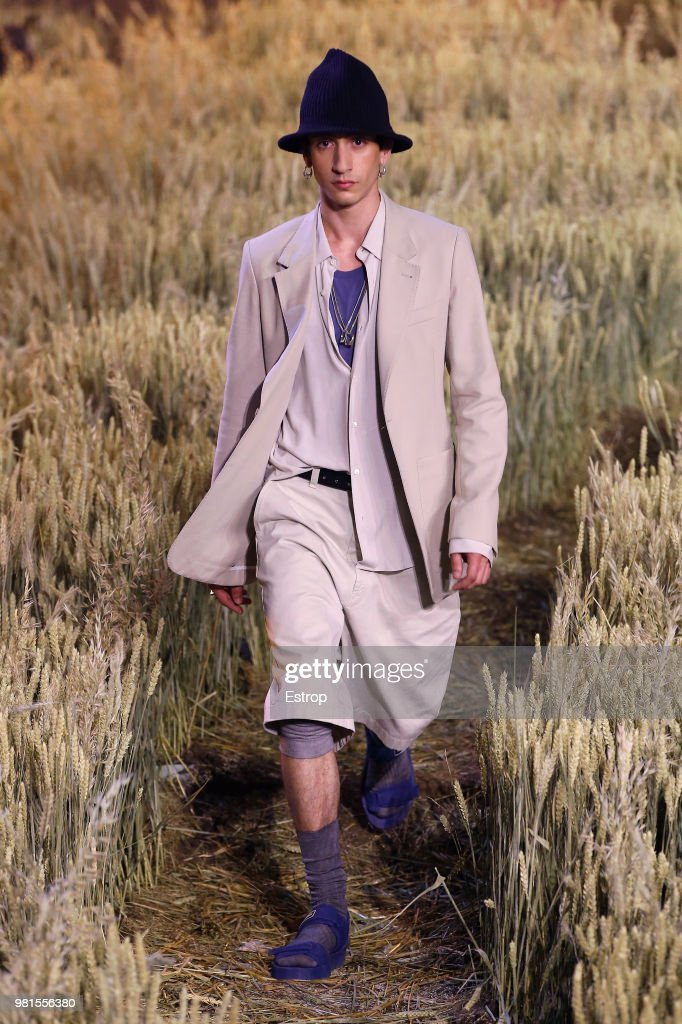 Ami Alexandre Mattiussi: Runway - Paris Fashion Week - Menswear Spring/Summer 2019