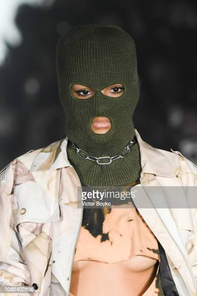 A model walks the runway during the Andrea Crews Menswear Fall/Winter 20192020 show as part of Paris Fashion Week on January 19 2019 in Paris France