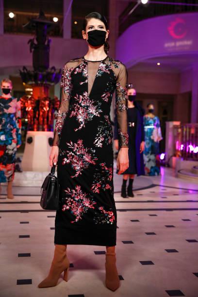 DEU: Anja Gockel Fashion Show - Berlin Fashion Week January 2021