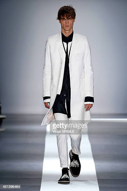 c439e9846f5 A model walks the runway during the Ann Demeulemeester show as part of the  Paris Fashion