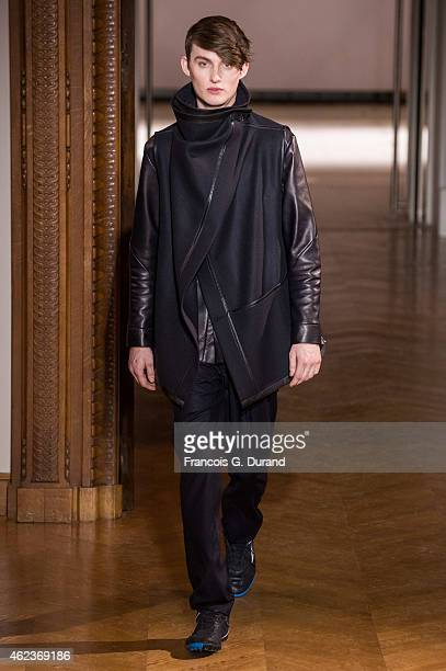 ed80bc3885f A model walks the runway during the Atelier Gustavolins show as part of  Paris Fashion Week