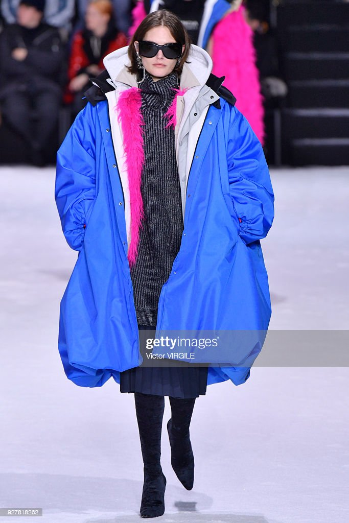 Balenciaga - Paris Fashion Week Womenswear Fall/Winter 2018/2019 : News Photo