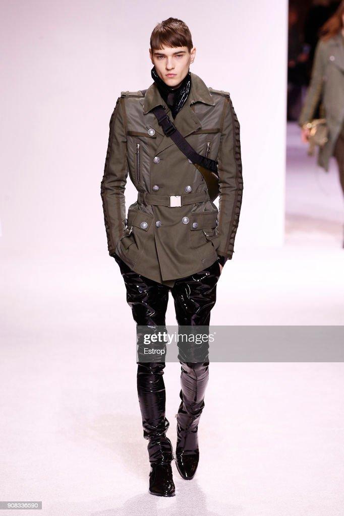 Balmain Homme : Runway - Paris Fashion Week - Menswear F/W 2018-2019 : ニュース写真
