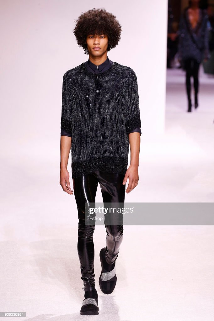 Balmain Homme : Runway - Paris Fashion Week - Menswear F/W 2018-2019 : ニュース写真