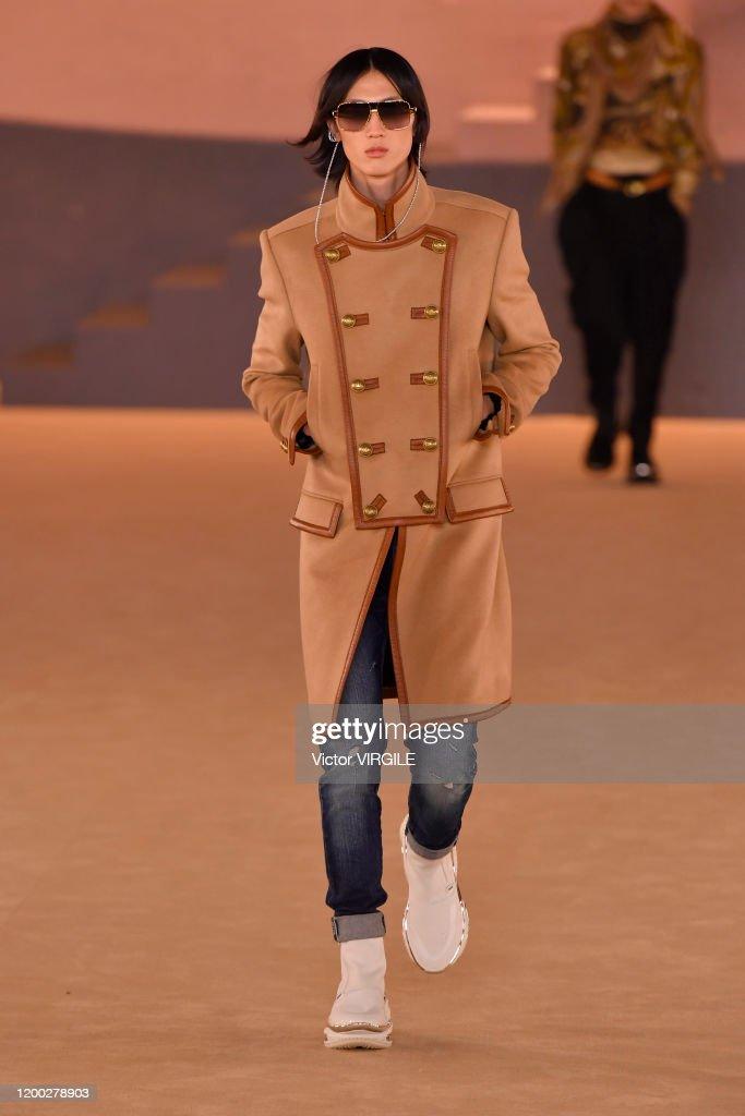 Balmain : Runway - Paris Fashion Week - Menswear F/W 2020-2021 : News Photo