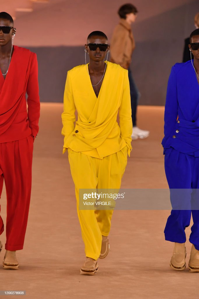 Balmain : Runway - Paris Fashion Week - Menswear F/W 2020-2021 : News Photo
