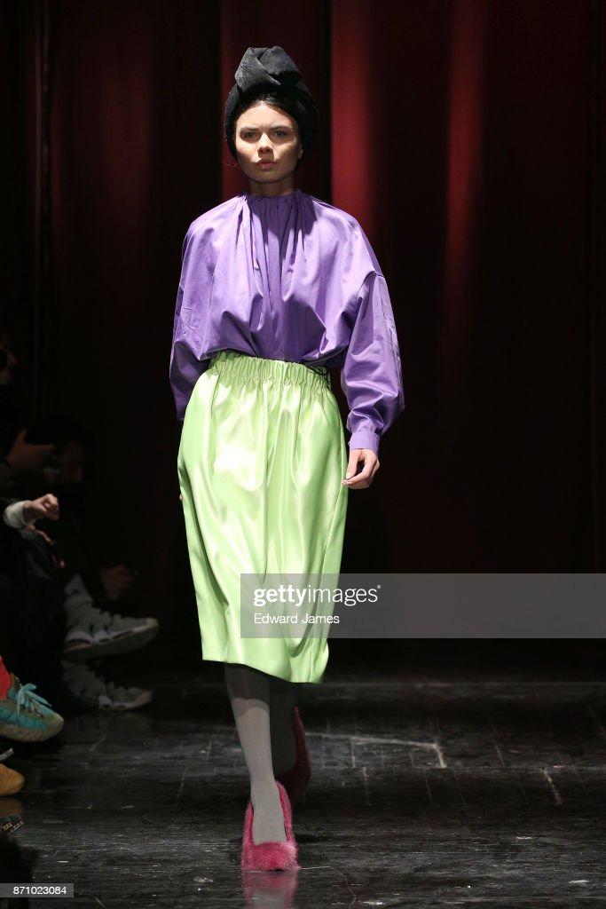 Mercedes Benz Fashion Week - Day 5 : News Photo