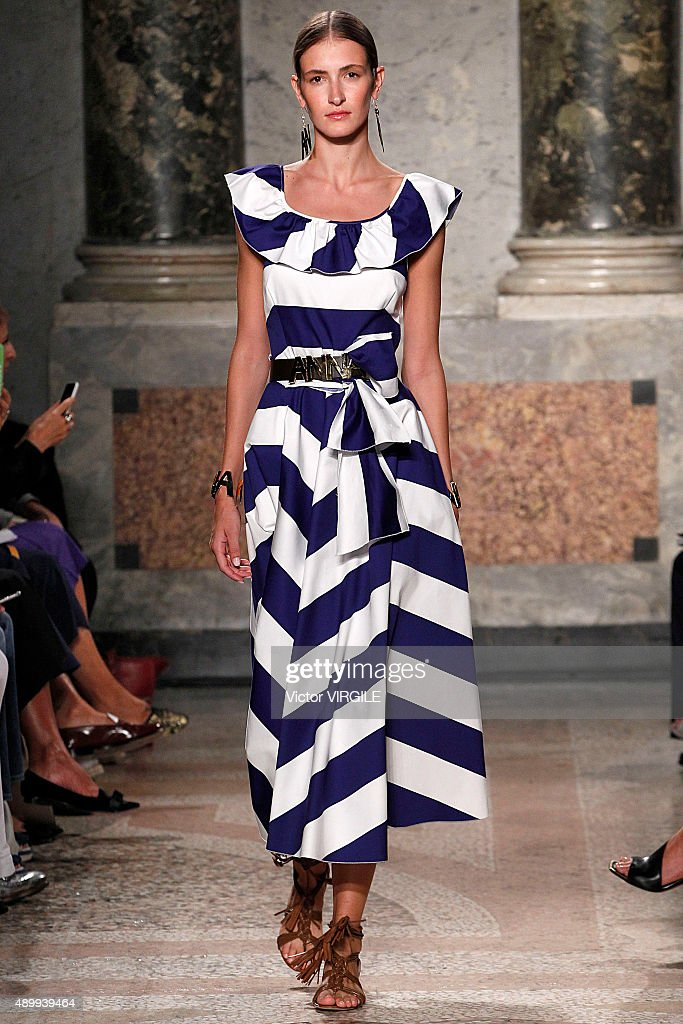 Blugirl - Runway - Milan Fashion Week SS16 : News Photo