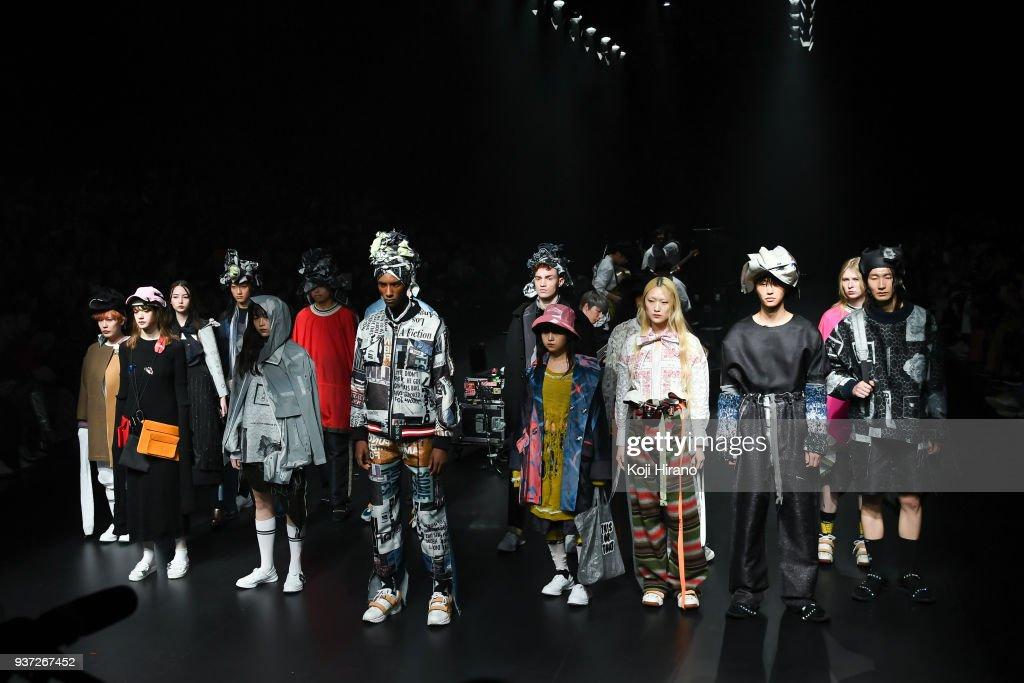 BODYSONG. - Runway - Amazon Fashion Week TOKYO 2018 A/W
