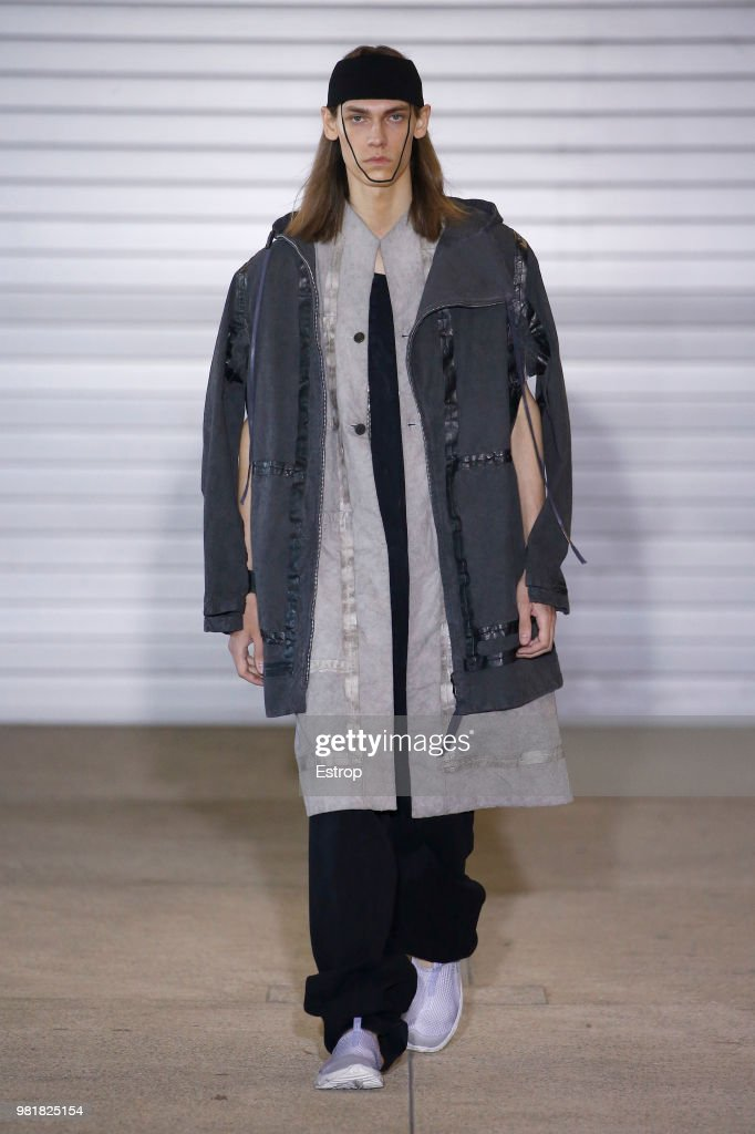 Boris Bidjan Saberi: Runway - Paris Fashion Week - Menswear Spring/Summer 2019