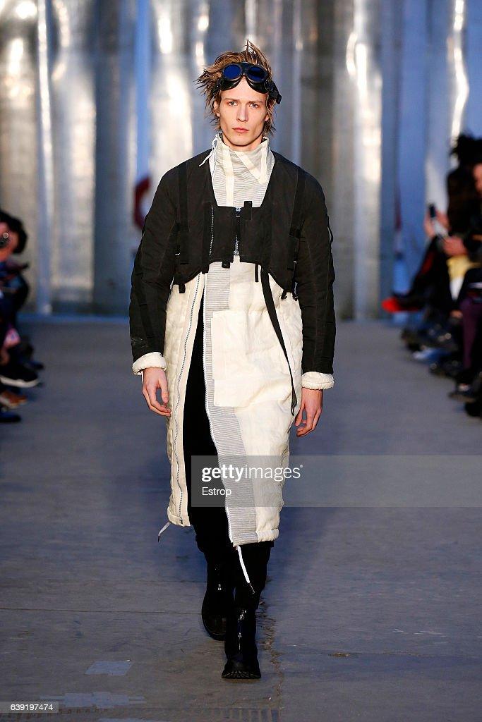 Boris Bidjan Saberi : Runway - Paris Fashion Week - Menswear F/W 2017-2018 : News Photo