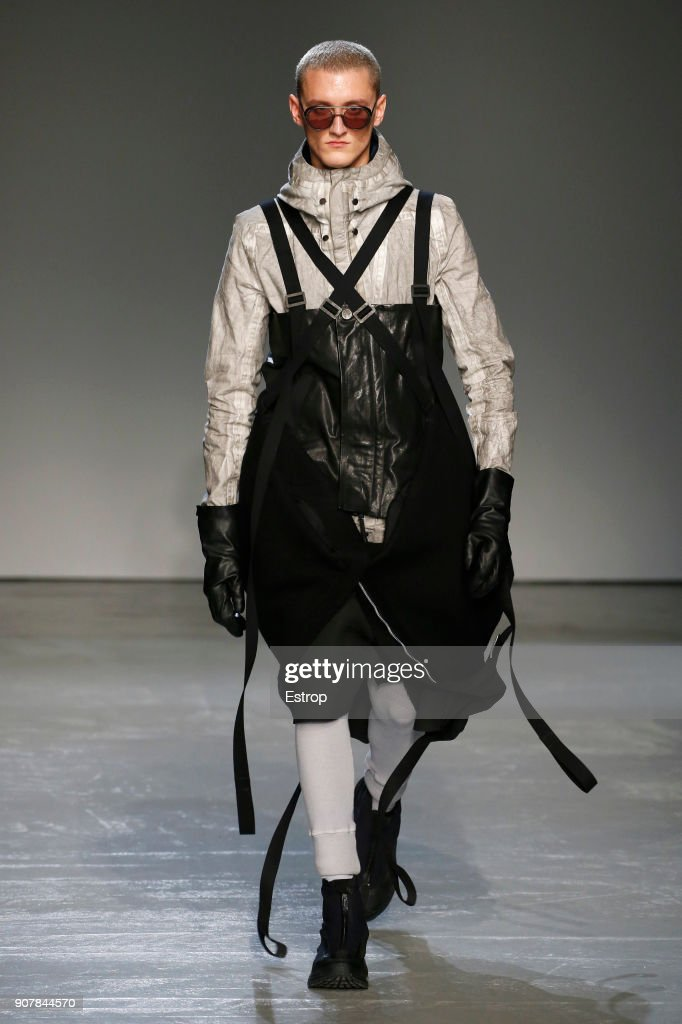 Boris Bidjan Saberi : Runway - Paris Fashion Week - Menswear F/W 2018-2019 : News Photo