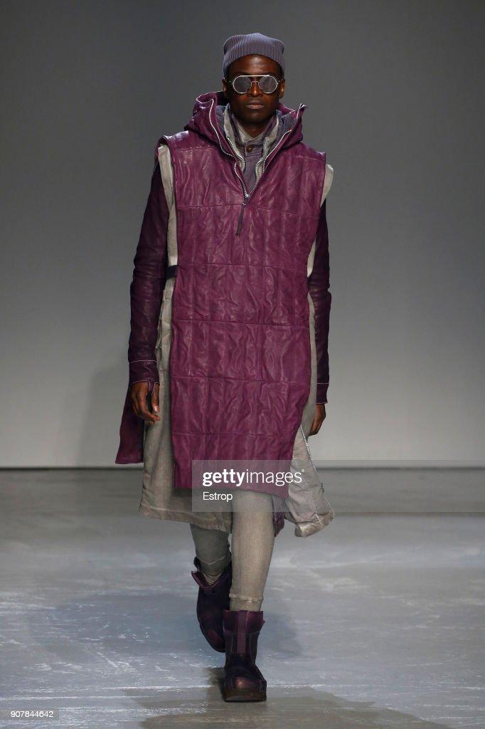Boris Bidjan Saberi : Runway - Paris Fashion Week - Menswear F/W 2018-2019 : ニュース写真