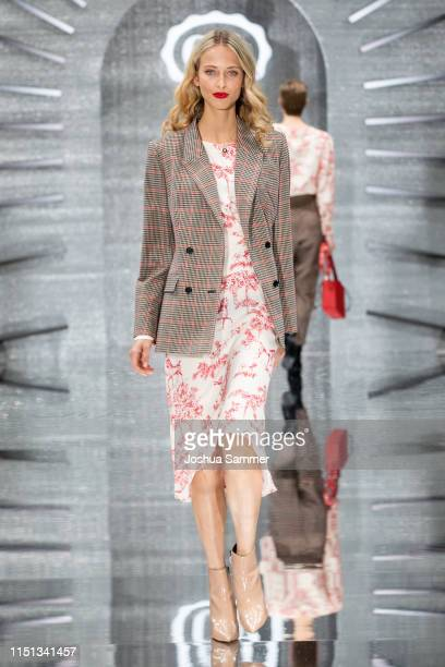 A model walks the runway during the CA collection room event on May 23 2019 in Essen Germany