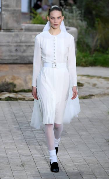 FRA: Chanel : Runway - Paris Fashion Week - Haute Couture Spring/Summer 2020