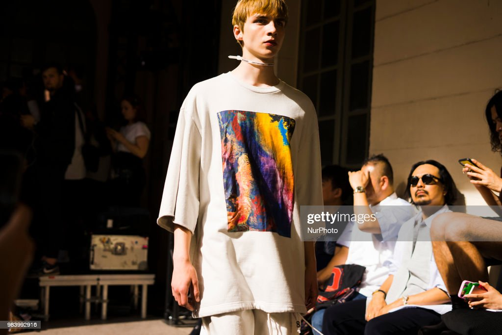 Christian Dada : Runway - Paris Fashion Week - : News Photo