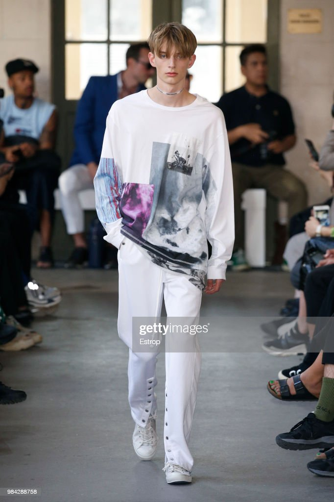 Christian Dada: Runway - Paris Fashion Week - Menswear Spring/Summer 2019