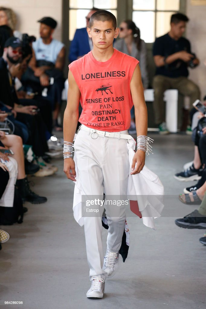 Christian Dada: Runway - Paris Fashion Week - Menswear Spring/Summer 2019 : News Photo