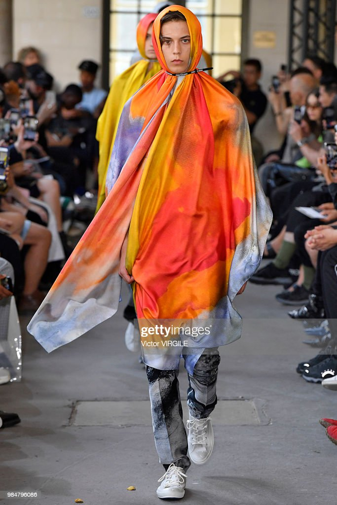 Christian Dada : Runway - Paris Fashion Week - Menswear Spring/Summer 2019 : ニュース写真