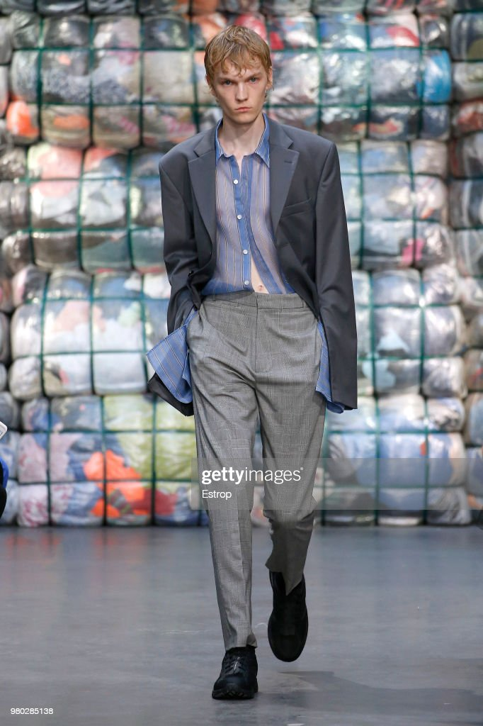CMMN SWDN : Runway - Paris Fashion Week - Menswear Spring/Summer 2019