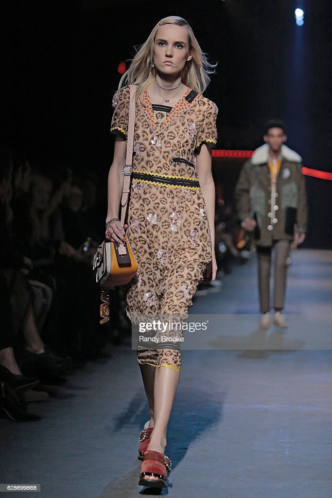 Coach Runway Show : News Photo