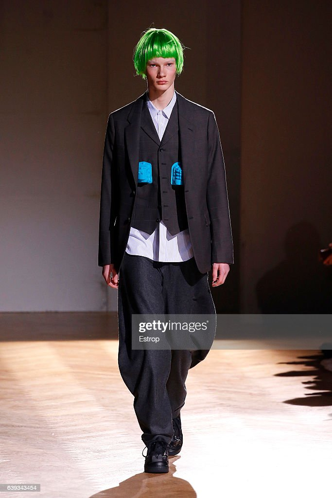 Comme Des Garcons Homme Plus : Runway - Paris Fashion Week - Menswear F/W 2017-2018 : News Photo