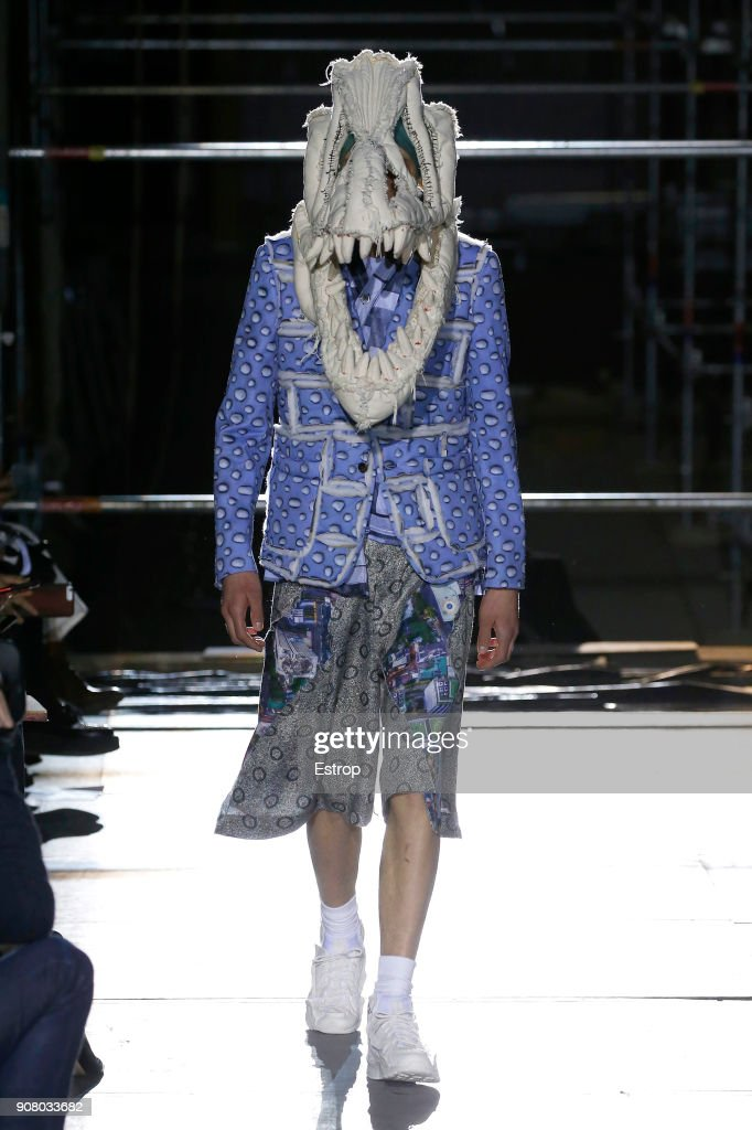 Comme Des Garcons Homme Plus : Runway - Paris Fashion Week - Menswear F/W 2018-2019 : Foto di attualità