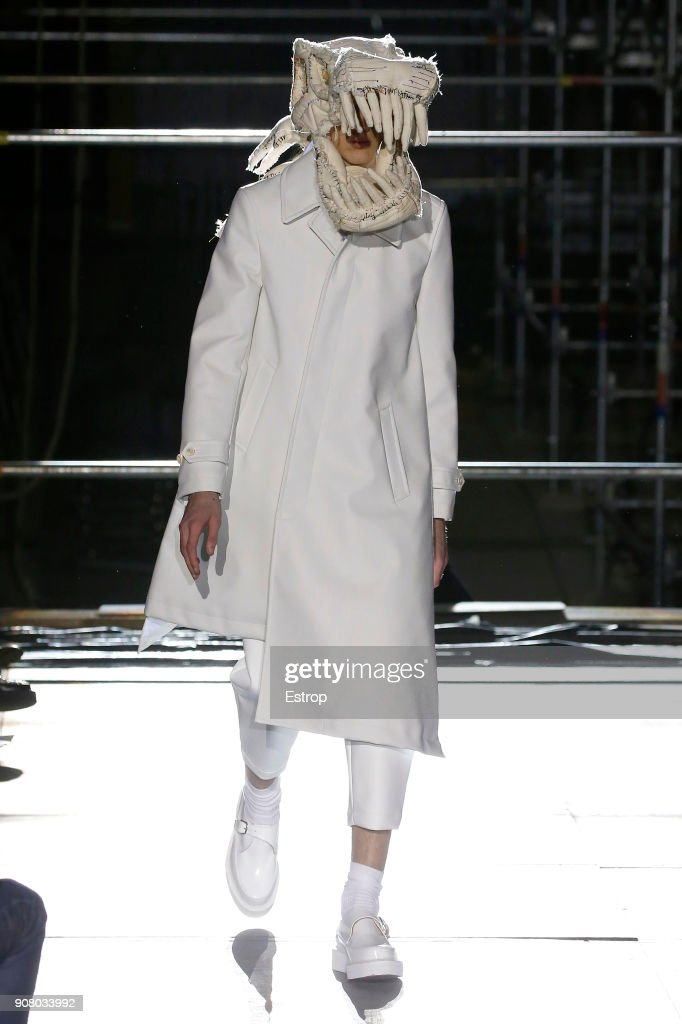 Comme Des Garcons Homme Plus : Runway - Paris Fashion Week - Menswear F/W 2018-2019 : News Photo