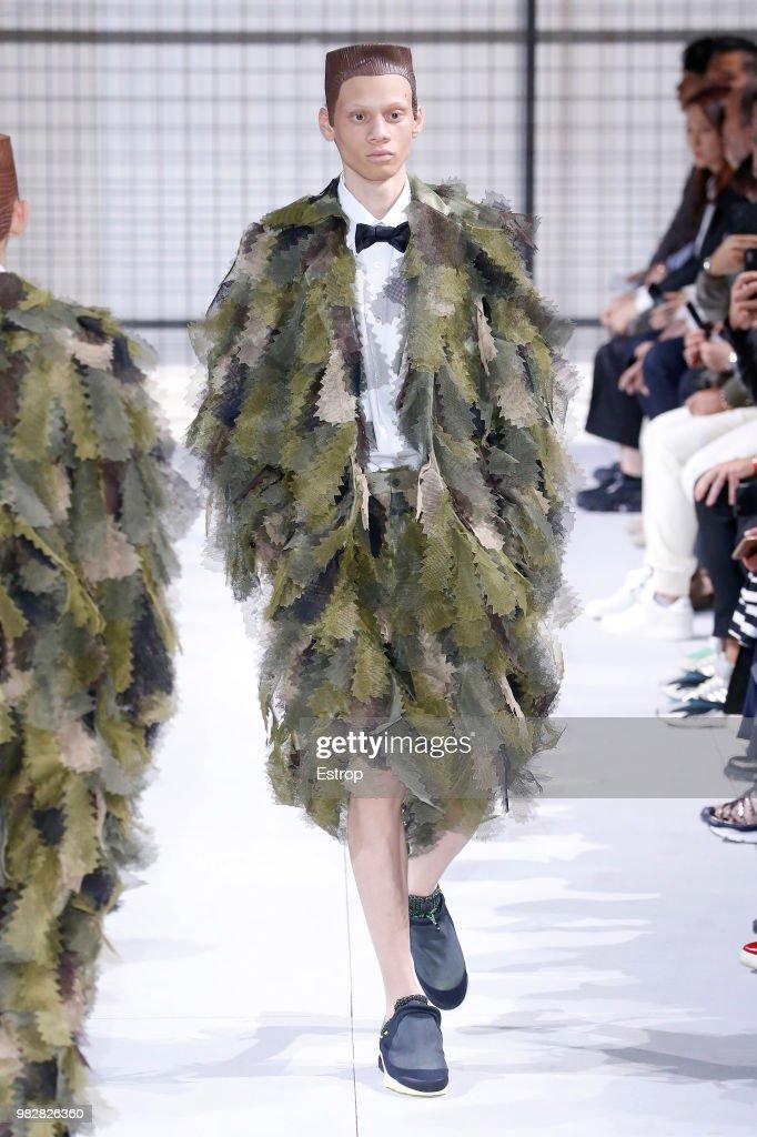 Comme des Garcons: Runway - Paris Fashion Week - Menswear Spring/Summer 2019 : ニュース写真