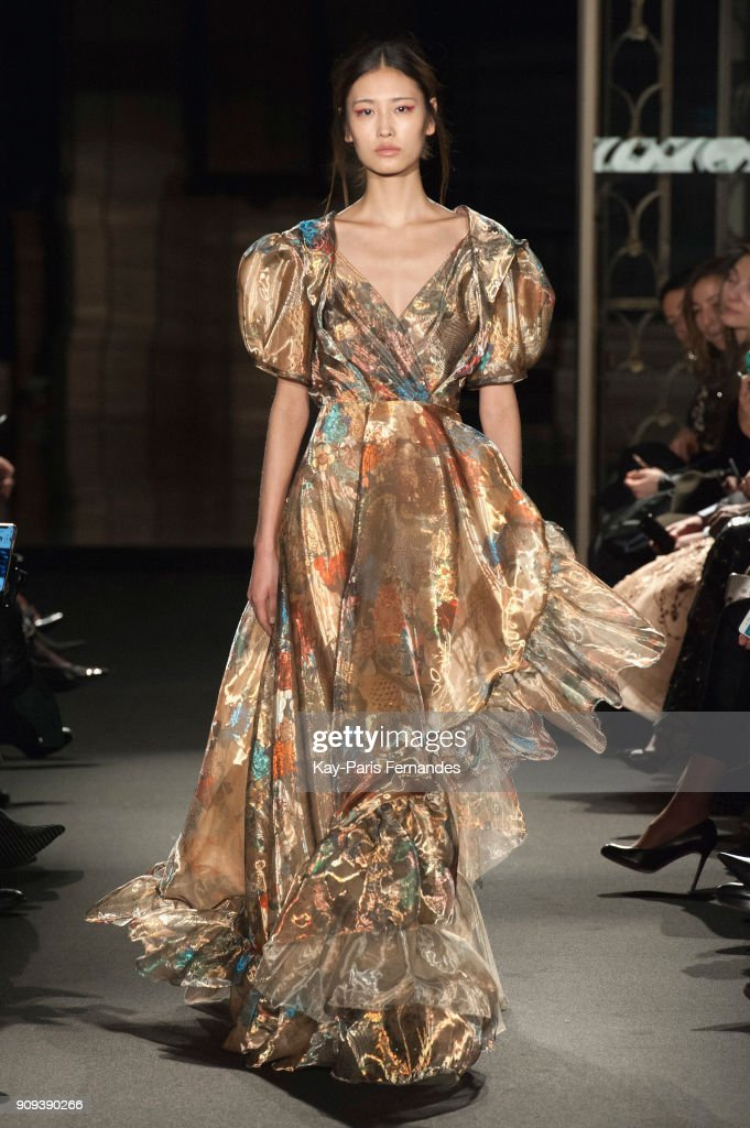 Dany Atrache : Runway - Paris Fashion Week - Haute Couture Spring Summer 2018