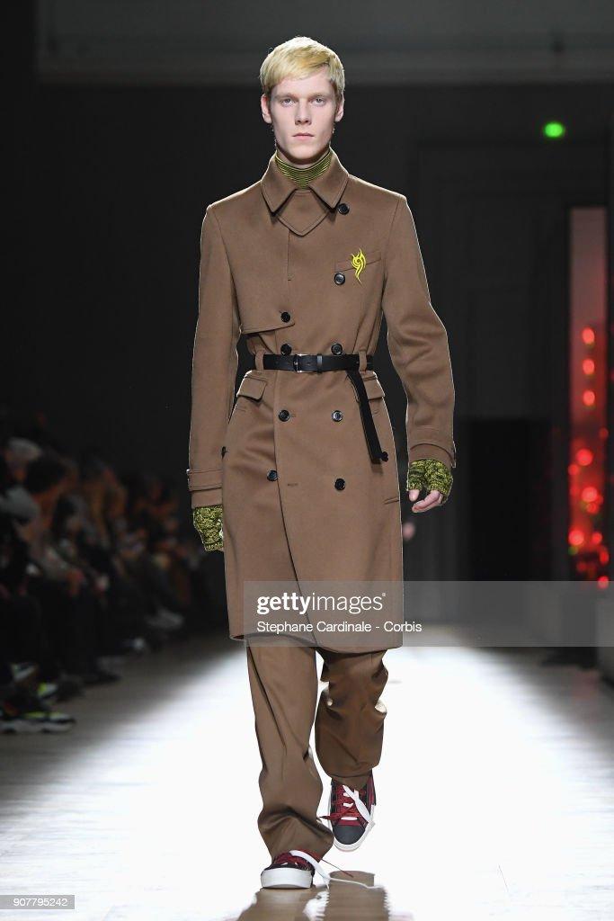 Dior Homme :  Runway - Paris Fashion Week - Menswear Fall Winter 2018/2019