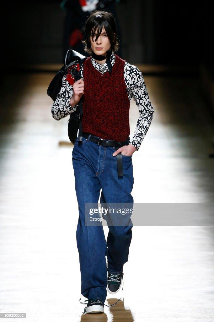Dior Homme : Runway - Paris Fashion Week - Menswear F/W 2018-2019 : ニュース写真