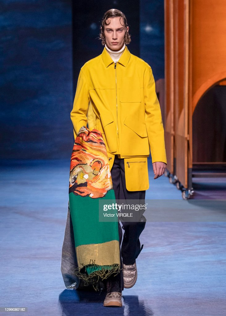 Dior Hommes - Runway - Fall/Winter 2021 2022 Paris Men Fashion Week : ニュース写真