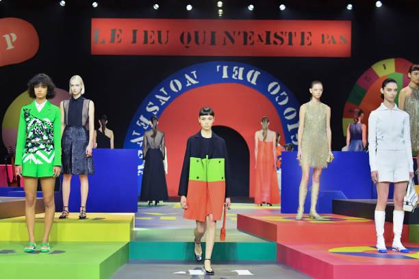 FRA: Dior : Runway - Paris Fashion Week - Womenswear Spring Summer 2022