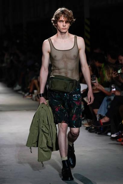 FRA: Dries Van Noten : Runway - Paris Fashion Week - Menswear Spring/Summer 2020