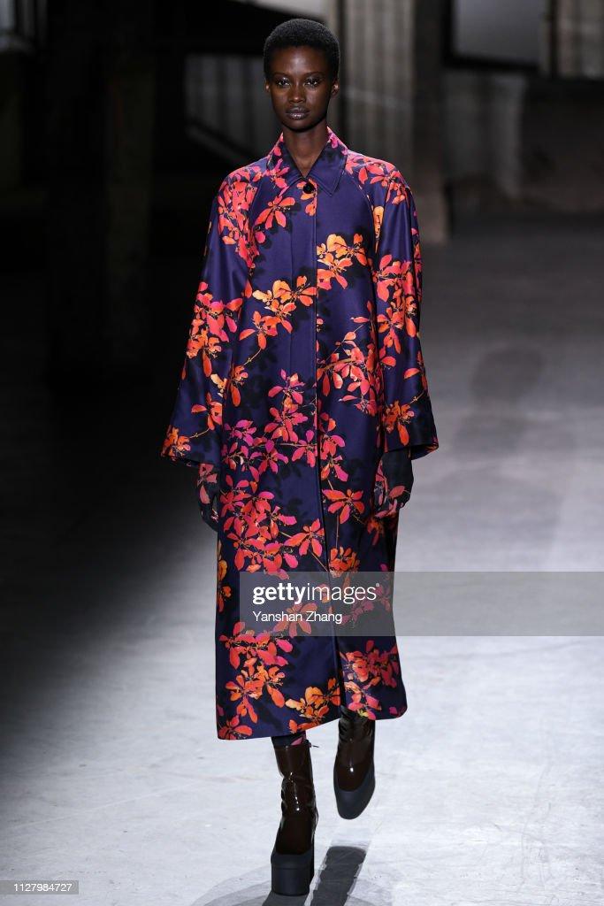 Dries Van Noten : Runway - Paris Fashion Week Womenswear Fall/Winter 2019/2020 : Foto jornalística