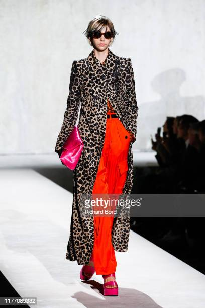 A model walks the runway during the Dries Van Noten Womenswear Spring/Summer 2020 show at Opera Bastille as part of Paris Fashion Week on September...